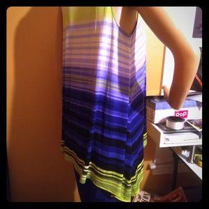 Pair of Worthington sleeveless draped tops